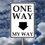 one way my way