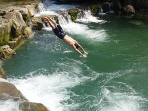 water plunge