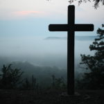 fog below cross